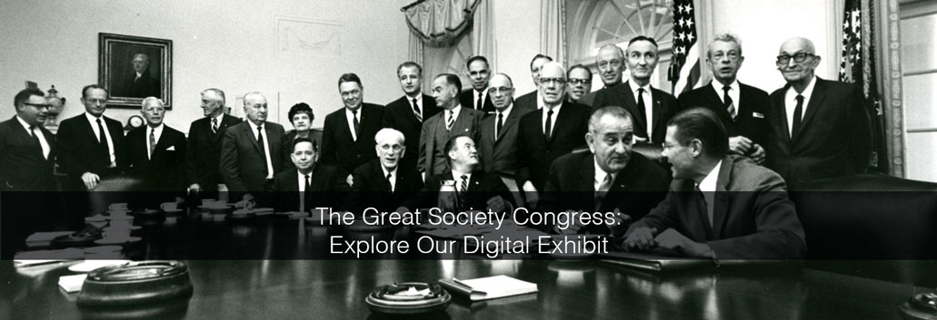 Visit the Great Society Congress Exhibit